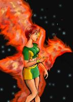 phoenix force by Psyflame05