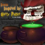 Harry Potter Mac Icons by Tinsdar
