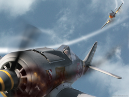 Dogfight by eibes