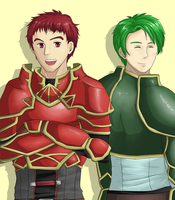 FE: Kieran and Oscar by Okkefac