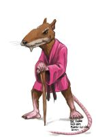 Daily Sketches Master Splinter by fedde