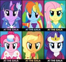 At The Gala Series by Alexstrazse