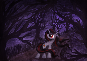 Dark forest by KairaAnix
