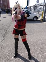 Harley Quinn (Arkham City) - Mantova Comics 2014 by Groucho91