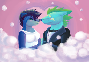 AT: Love is in the Air by FeatheredSoap