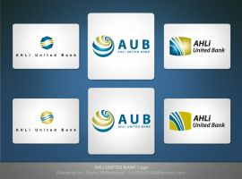 Ahli United Bank logos by Roma2010