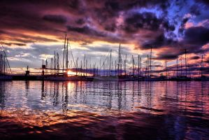 Harbour by michaelmknight