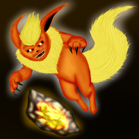 #136 Flareon by Phandenstein