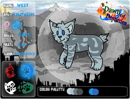DoD - WaterClan App. - West by Pandeer-Productions