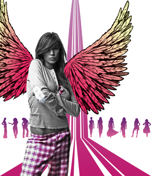 Vector Angels fasion show. by FlamingLine