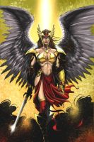 Hawkgirl by JeffieB