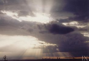 Light through the clouds by theix
