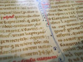13th Century Manuscript 04 by barefootliam-stock