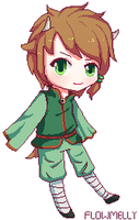 Pixel Comission: Capi by flowmelly