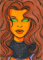 Sketchcard Starfire by RichBernatovech