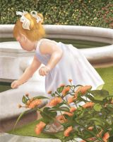 Grace by the Fountain by coachwes