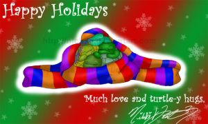 Happy Holidays TMNT Fans by nichan