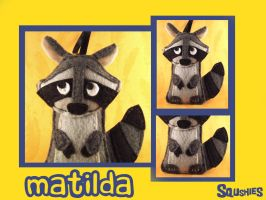 Matilda the Raccoon by Squshies