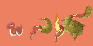 Fire Starter Line Up by IDrew1995