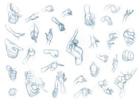 Hand studies 1 by BBstudies