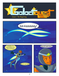 Galactiquest Issue 1, pg 1 by bulgariansumo