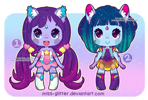 Galactic Cuties [0pen!] by Miss-Glitter