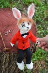 Poseable toy commission for  juliusrabbito by MalinaToys