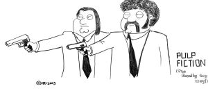 Pulp Fiction by harshadpd