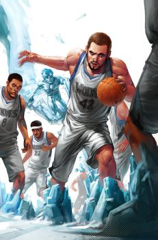 NBA Marvel by ChristianNauck