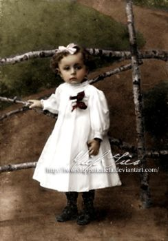 Anne Frank's Helper as a baby by Livadialilacs