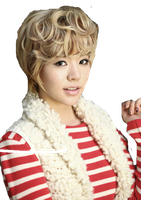 SNSD Sunny Christmas ~PNG~ by JaslynKpopPngs
