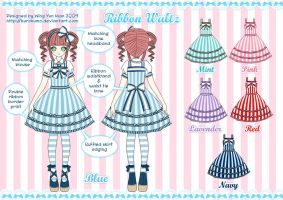 Ribbon Waltz Lolita Design by kurokumo