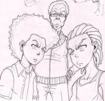 Boondocks sketch by Pinoy0A