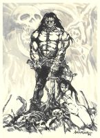 Conan The Barbarian by axis000