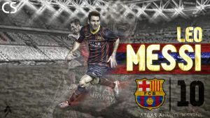 Messi Wallpaper by abbaszahmed