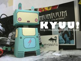 Kyuu the Robot by sampratot