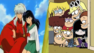 Loud Sisters ships InuYasha X Kagome by MarcosPower1996
