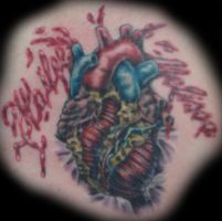 Bursting Anatomical Heart by five-nineteen
