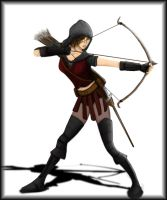 Female Archer - Coloured by scoutct6