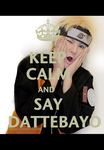 [Naruto Cosplay] Keep Calm and say DATTEBAYO! by TessaCrownster