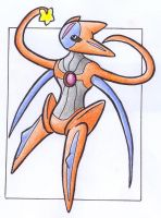 Star - Deoxys .:colour:. by Fluna
