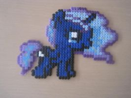Filly Princess Luna Hama Beads by HamaBeadsPonies