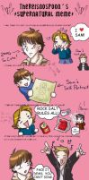 My Supernatural Art Meme by LauraDoodles