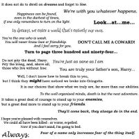 Harry Potter Quotes by moonprincessluna