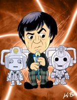 Doctor Who Patrick Troughton by kevinbolk