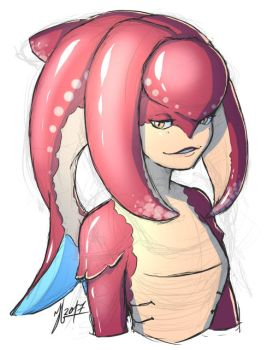 Zora-ish girl sketch by Andante2