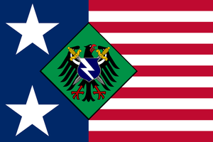 Pure Human Party USA Flag by Party9999999