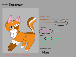 Emberpaw by Larkflame
