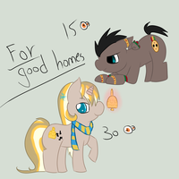Pony adopts -closed- by PinkiPoni