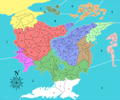 Althea with numbered regions by esspkay